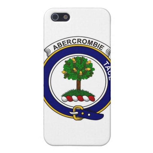 Insignia de Abercrombie del clan iPhone 5 Fundas