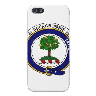 Insignia de Abercrombie del clan iPhone 5 Protector