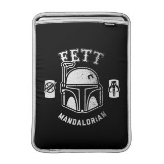 Insignia de Boba Fett Funda Para Macbook Air