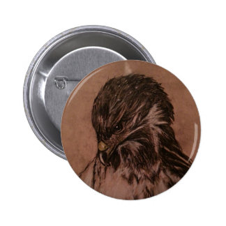 Insignia de Eagle Chapa Redonda De 5 Cm