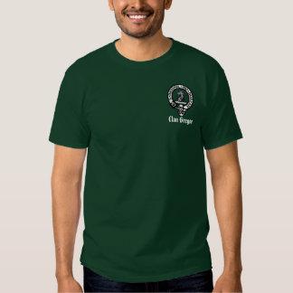 Insignia de Gregor, clan Gregor Camisetas