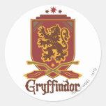 Insignia de Gryffindor Quidditch Pegatinas