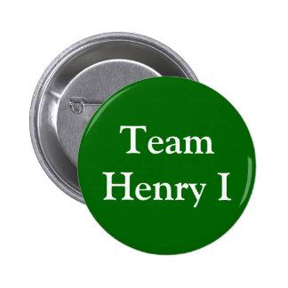 Insignia de Henry I del equipo Chapa Redonda De 5 Cm
