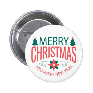 Insignia de Noël/Christmas insignia Chapa Redonda De 5 Cm
