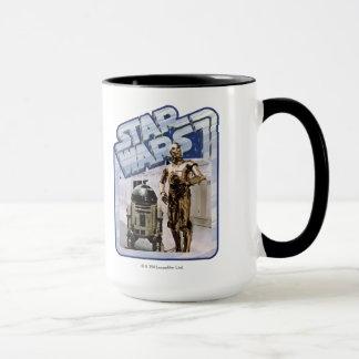 Insignia de R2-D2 y de C-3PO Taza