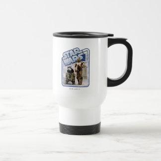 Insignia de R2-D2 y de C-3PO Taza De Viaje