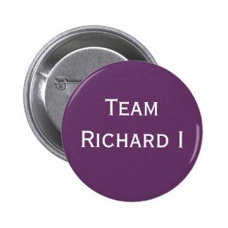 Insignia de Richard I del equipo Chapa Redonda De 5 Cm
