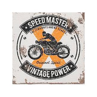 Insignia de Speedmaster Lienzo