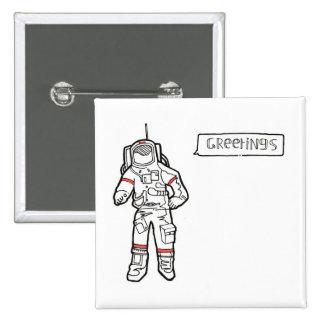 Insignia del astronauta pin
