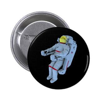 insignia del astronauta chapa redonda 5 cm