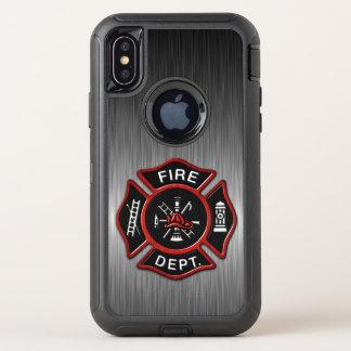 Insignia del bombero de lujo