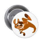 Insignia del botón de la voltereta del canguro lin pin