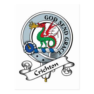 Insignia del clan de Crichton Postal