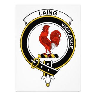 Insignia del clan de Laing Invitaciones Personalizada