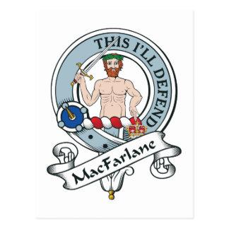 Insignia del clan de MacFarlane Postal