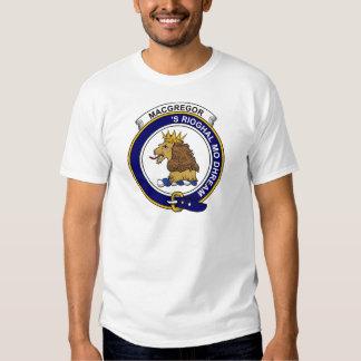 Insignia del clan de MacGregor Camisas
