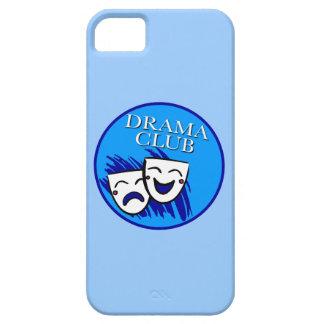 Insignia del club del drama: Chapoteo de azules iPhone 5 Case-Mate Protectores