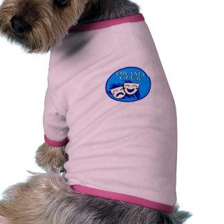 Insignia del club del drama camisas de perritos
