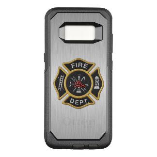 Insignia del cuerpo de bomberos de lujo funda otterbox commuter para samsung galaxy s8