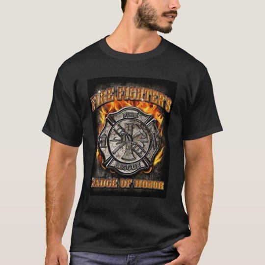 Insignia del honor camiseta