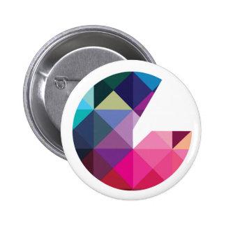 Insignia del logotipo de Geeked Chapa Redonda 5 Cm