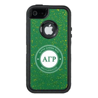 Insignia gamma alfa de rho el   funda OtterBox defender para iPhone 5