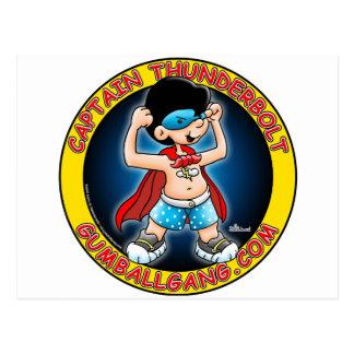 Insignias de capitán Thunderbolt Postales