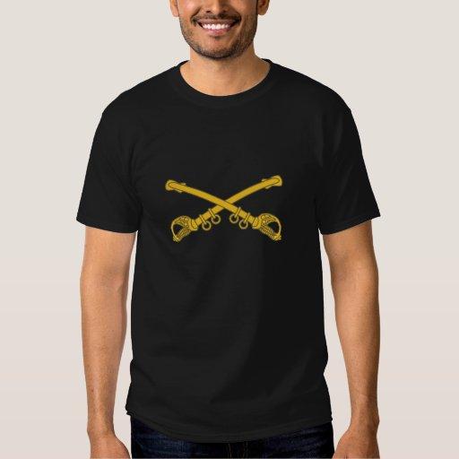 Insignias de la caballería camisetas