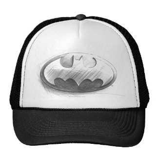 Insignias del símbolo el | de Batman que dibujan Gorro De Camionero