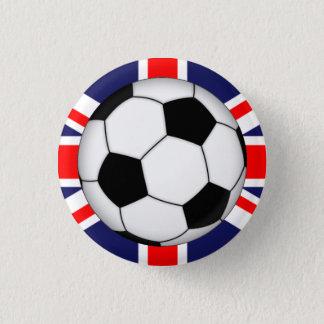 Insignias deportivas inglesas del botón del