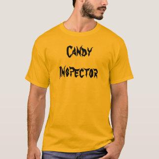 Inspector del caramelo camiseta