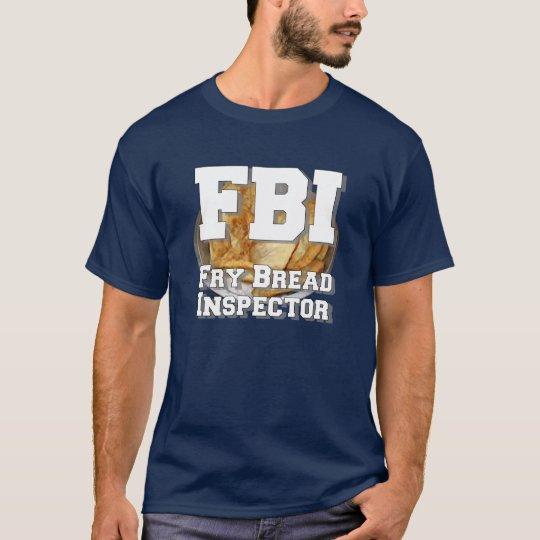 Inspector del pan de fritada camiseta