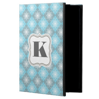Inspectores azules y grises hermosos funda para iPad air
