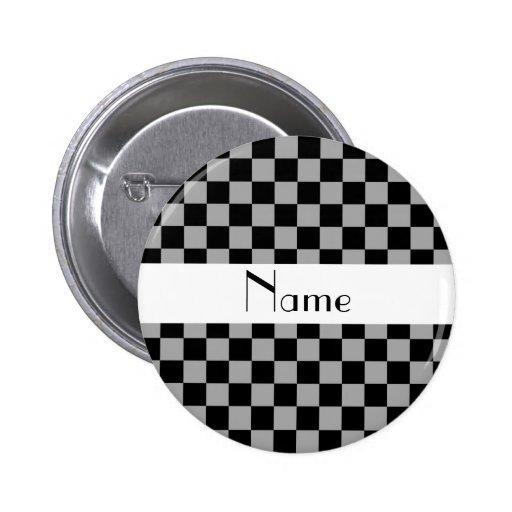 Inspectores grises conocidos personalizados pins
