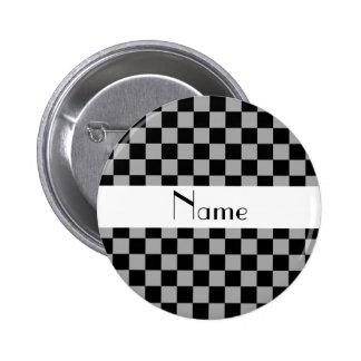Inspectores grises conocidos personalizados chapa redonda 5 cm