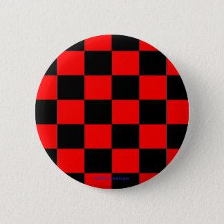 inspectores negros y rojos del botón -