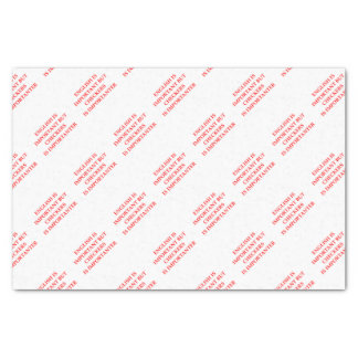 inspectores papel de seda