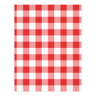 Inspectores rojos de la comida campestre tarjetas informativas