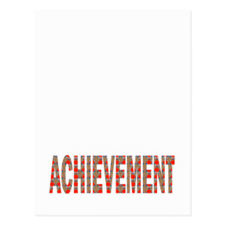 Inspiración de esfuerzo de la motivación del éxito tarjeta postal