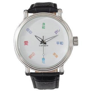 Inspiración diaria (en japonés) relojes