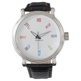 Inspiración diaria (japonesa) relojes de mano