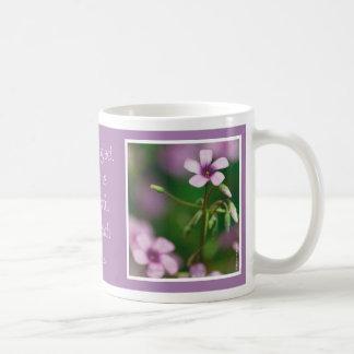 Inspiración - taza rosada del alazán de madera