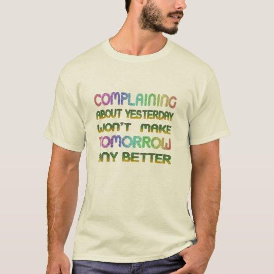 inspirado haga que la mejor camiseta futura diseña