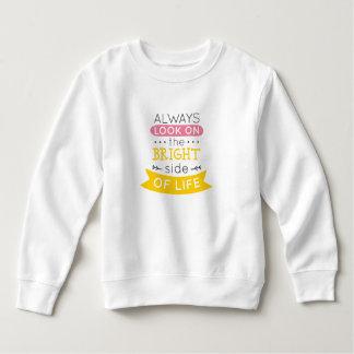 Inspirado la parte positiva de la camiseta de la