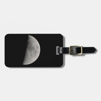Inspirado por la luna etiqueta para maletas