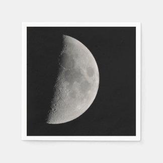 Inspirado por la luna servilleta desechable