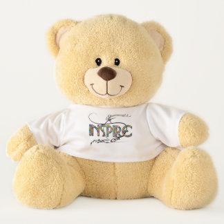 Inspire el oso del peluche del niño