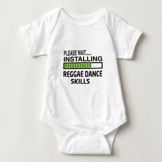 Instalación de habilidades de la danza del reggae body para bebé