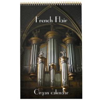 Instinto francés - órganos del calendario de