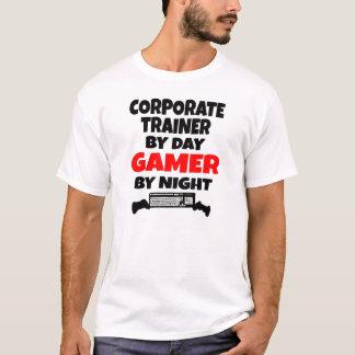 Instructor corporativo por videojugador del día camiseta
